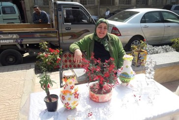 افتتاح معرض إرادة للمنتجات الفنية واشغال الهاند ميد الخاصة بمحاربات الجمعية المصرية لدعم مرضى السرطان Cansurvive