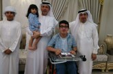 منارتنا اليوم عبد الله من الامارات والذي تحدى إعاقته بتفوق