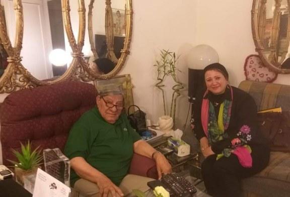 لقائي اليوم مع الكاتب والمحاور الصحفي الأستاذ مفيد فوزي أحد إعلام الصحافه المصريه