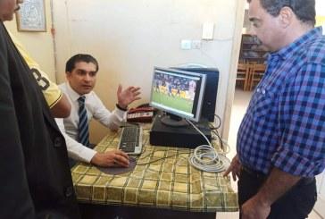 (رئيس الاتحاد المصري للميني فوتبول يبدأ جولاته بالصعيد ويلتقي رئيس مركز شباب مرسي علم ويعلن انضمامه )