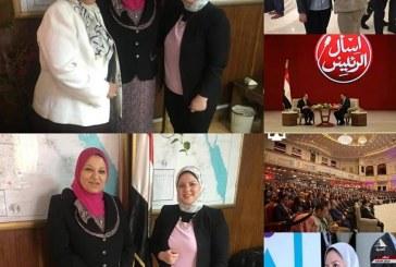هاجر عبد الحكيم تشيد بدور الرئيس لإستكمال مسيرة النمو والتنميه والاستقرار بمؤتمر الشباب