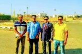 (رئيس الاتحاد المصري للميني فوتبول يلتقي وكيل وزارة الشباب والرياضة بجنوب سيناء )