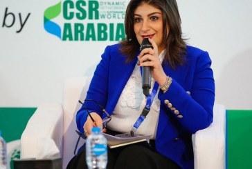 كورين شنودة سفيرة النوايا الحسنة والرئيس التنفيذي لمؤسسة البورصة المصرية للتنمية المستدامة