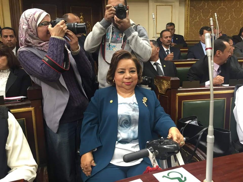 ضمن تعديلين على قانون المرور الجديد تقدمت بهما لمجلس النواب #النائبة_الدكتورة_هبة_هجرس تطالب بمنح الصم رخصة قيادة