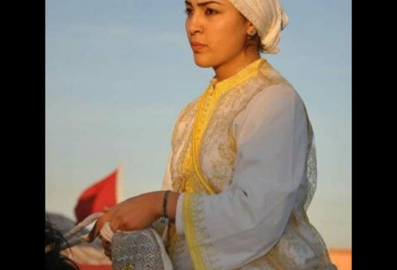 أمال أحمري أيقونة التبوريدة المغربية