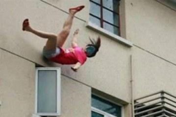 جريمة مروعة.. ربة منزل تلقى ضرتها من الطابق الخامس بمصر