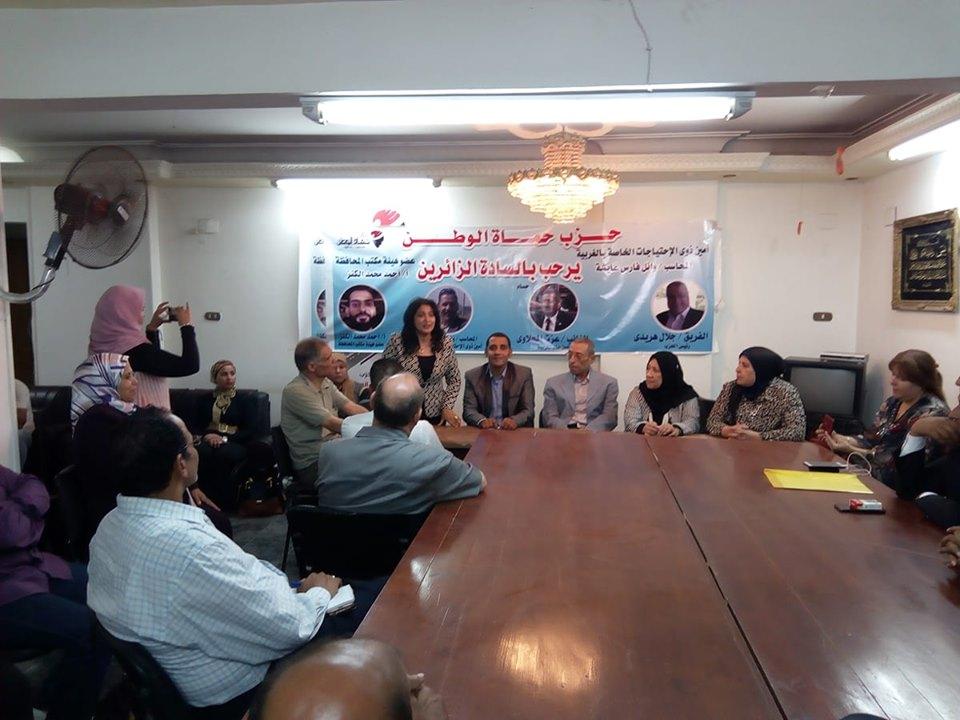أمانة ذوي الإحتياجات الخاصة بحزب حماه الوطن تعقد ندوة برئاسة