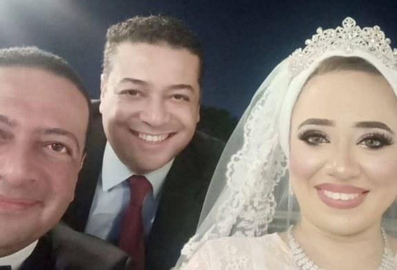 تهنئه بمناسبة عقد قران العقيد دكتور مهندس وائل سليمان على نجمة الاوبرا بسمة عبد القادر