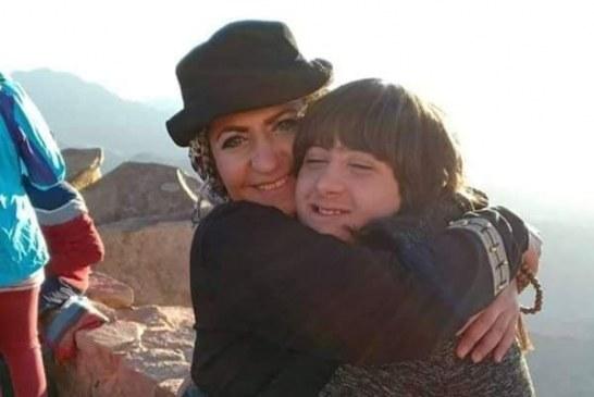 في بيتي طفل داون  سوبر نهي سوبر ماما تتسلق الجبل