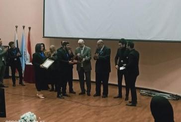 """شهادة نجاح جديدة للإعلامى """" كريم أسامة """" داخل الجامعة الروسية (صور)"""