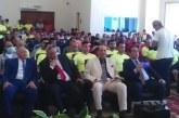 اللواء عادل الغضبان ورئيس الاتحاد المصري للميني فوتبول يدشنان الدورة الدولية التخصصية الأولي للحكام والمدربيين والإداريين للميني فوتبول ببورسعيد )
