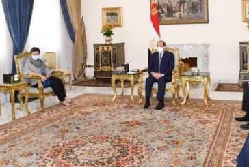 الرئيس السيسى يؤكدان النَيل من كيانات الدول في المنطقة تتيح المساحة لانتشار الإرهاب والفكر المتطرف