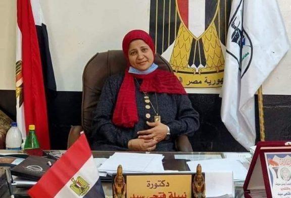 (نماذج مضيئة) د. نبيلة فتحي سيد مدير عام إدارة الفشن التعليمية