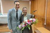 تهنئة من الصحفي هاني صبري ومن أسرة أسينات للمهندس محمد ابو بكر