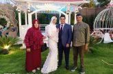 بمناسبة عقد قران ضابط الشرطة اسلام صلاح العريني على الانسة ميرنا نعيم