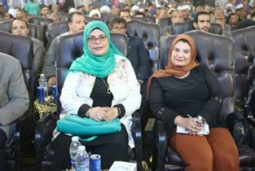 فاعليات حزب حماة الوطن بمحافظة سوهاج للاحتفال بمشروع حياة كريمة